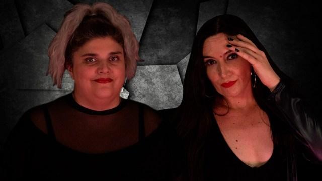 Las dos actrices presentan su espectaculo en el Galpón de Guevara