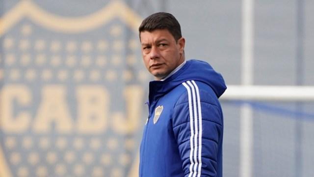 Battaglia piensa en Mancuso para reemplazar a Marcelo Weigandt. Foto: @BocaJrsOficial