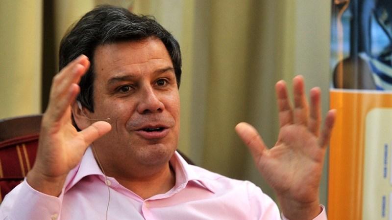 """""""Hay diferencias que vamos a mantener"""", dijo Facundo Manes, sobre el futuro de la coalición opositora. (Foto: Analía Garelli)"""
