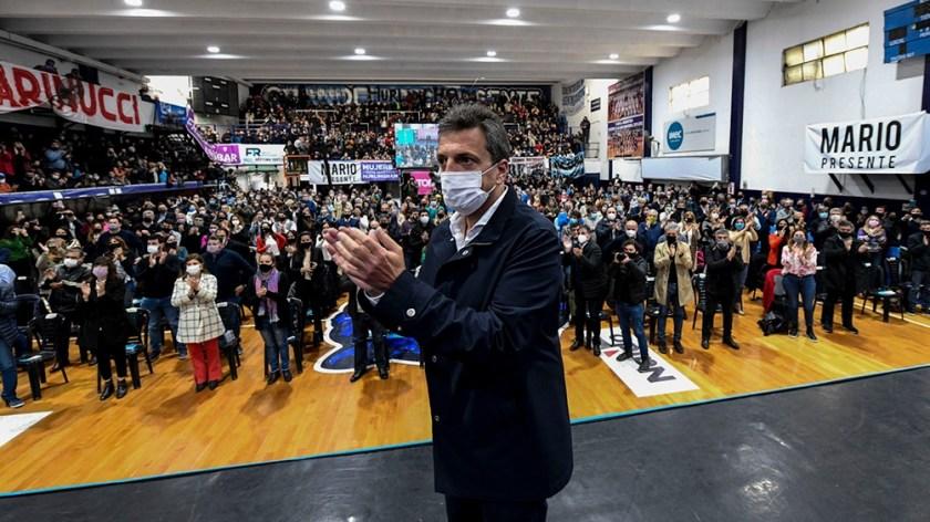 Massa cierra la campaña en Junín. (Foto: prensa)