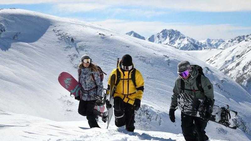 Una misión de snowboard que dejó plasmada la pasión y la unión de un equipo en la nieve. Foto: Julián Lausi