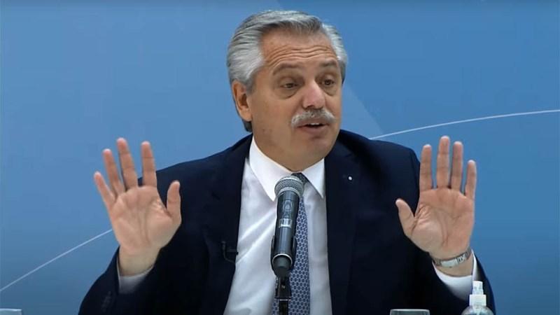 """Fernández: """"Nada hay más importante que el desarrollo de la industria argentina""""."""