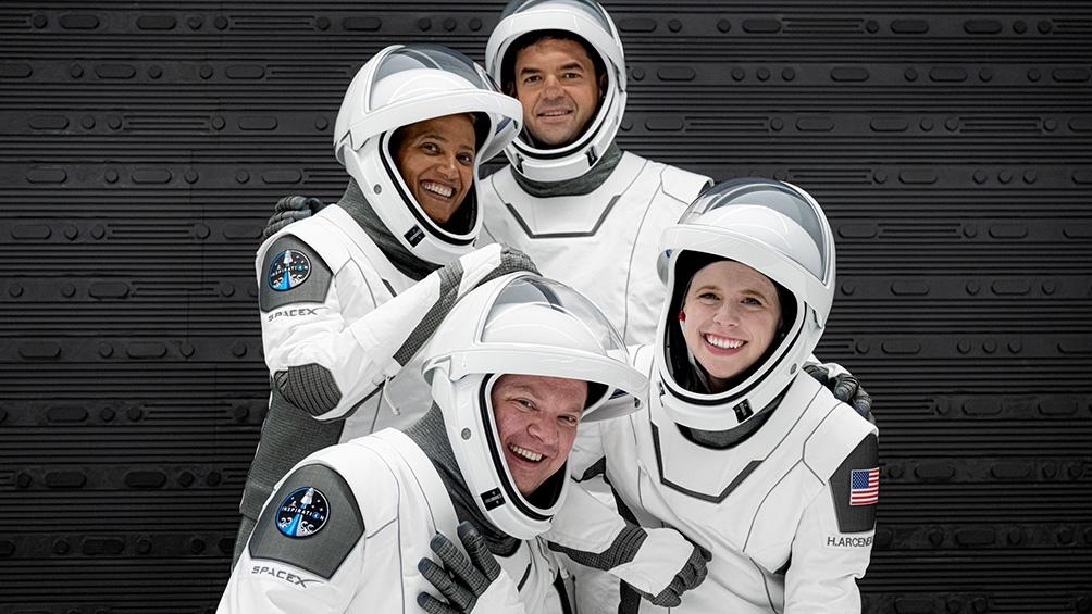 Jared Isaacman será el comandante de la misión. La tripulación se completa con Hayley Arceneaux, Chris Sembroski y Sian Proctor.