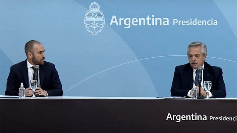 Alberto Fernández y Martín Guzmán presentaron el proyecto de Ley de Promoción de Inversiones Hidrocarburíferas.