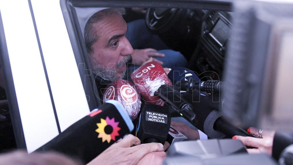 """Para Berni, el designado mnistro de Seguridad Nacional, Anibal Fernandez, tiene """"capacidad de trabajo y de gestión"""". Foto Julián Alvarez."""