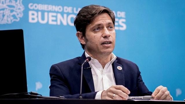 El gobernador bonaerense, Axel Kicillof, anunció la segunda dosis de vacunación contra el coronavirus libre.