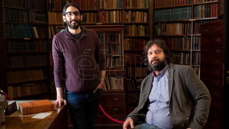 Santiago Palazzo, director de la Fecic, y Pablo Fiorenza, coordinador de la Casa Museo.