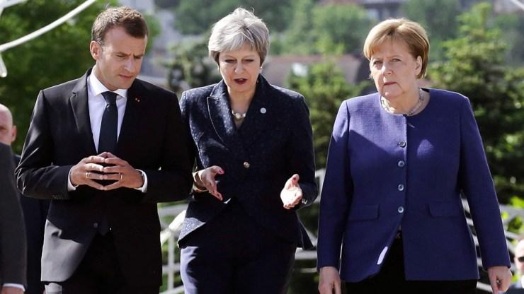 Alemania es el principal motor económico y mueve los hilos del poder político en la Unión Europea (Foto AFP).