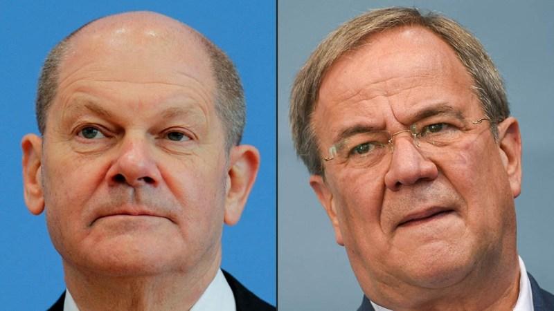 El vicecanciller y ministro de Finanzas saliente, Olaf Scholz, disputará con Armin Laschet, el candidato del partido de Angela Merkel.