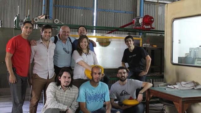 El equipo de investigación de la Universidad Tecnológica Nacional.