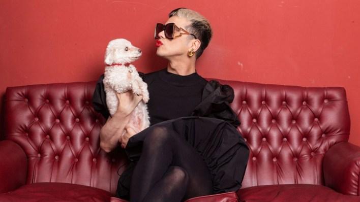 """Santiago Artemis es un """"enfant térrible"""" de la moda."""
