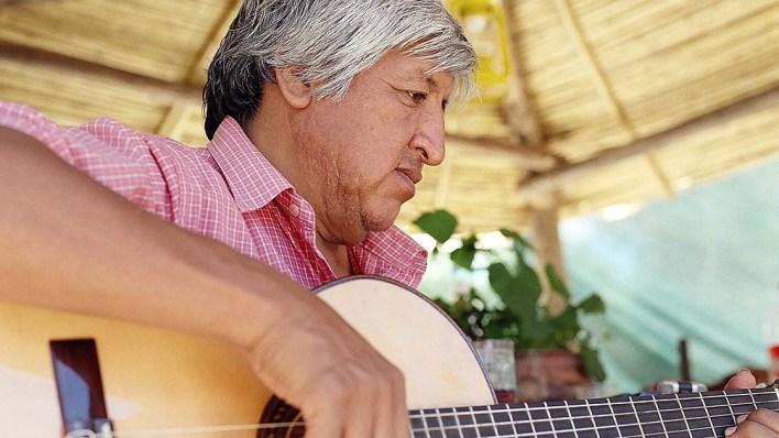 La música de Vilca es un reflejo de sus experiencias en la Quebrada; el silencio del viento.