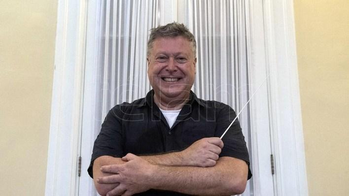 Vieu también dirigirá a la orquesta en un homenaje a los 70 años de la televisión en Argentina (Foto: Victoria Egurza)