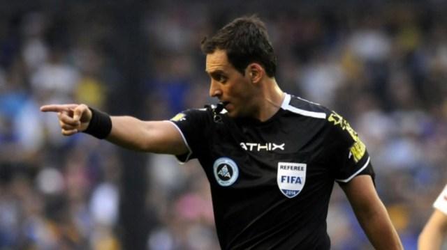 Rapallini arbitrará su segundo partido en la Eurocopa.