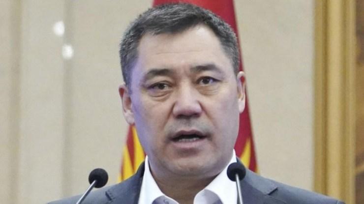 El presidente, Sadir Japárov, fue el impulsor y mayor beneficiado por las reformas
