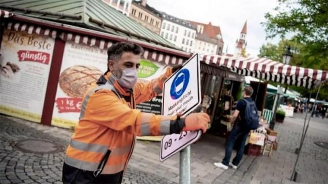 En Alemania hubo un ligero descenso de la incidencia acumulada a siete días, aunque en Semana Santa suelen realizarse y notificarse menos pruebas.