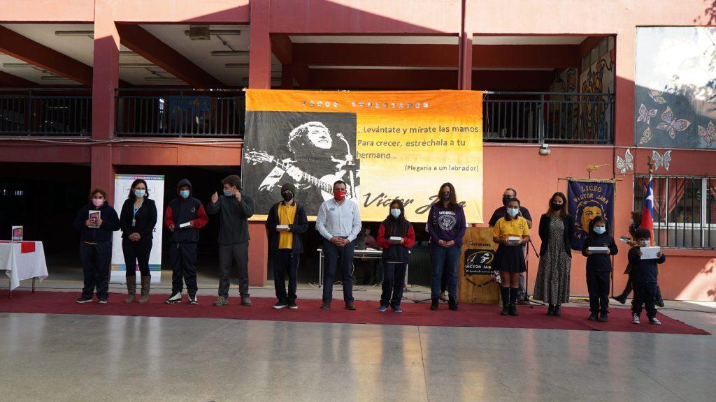 Actividad Papa John´s Liceo Municipal Víctor Jara