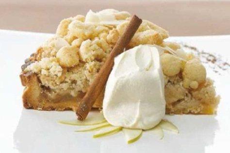Resultado de imagen de tarta de manzana alemana