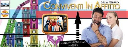Conviventi in affitto, dal 23 febbraio 2014 la nuova sit com in onda su Canale Italia
