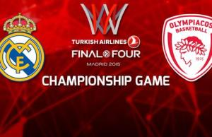 Real Madrid-Olympiacos , sport in tv