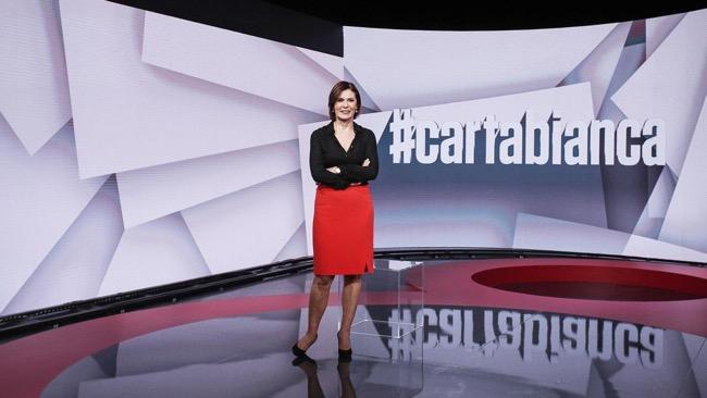 #cartabianca, Bianca Berlinguer riporta l'informazione al martedi sera di Rai tre
