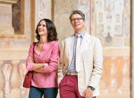 Anele_Illuminate_ ep.2 Palma Bucarelli_ Valentina Bellè con Angelo Bucarelli_ Palazzo Farnese