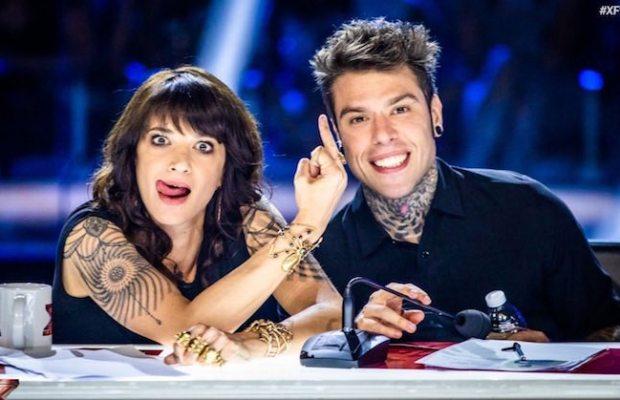 Asia Argento e Fedez X Factor
