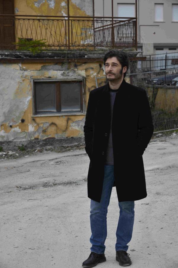 Lino Guanciale L'Aquila Rai due