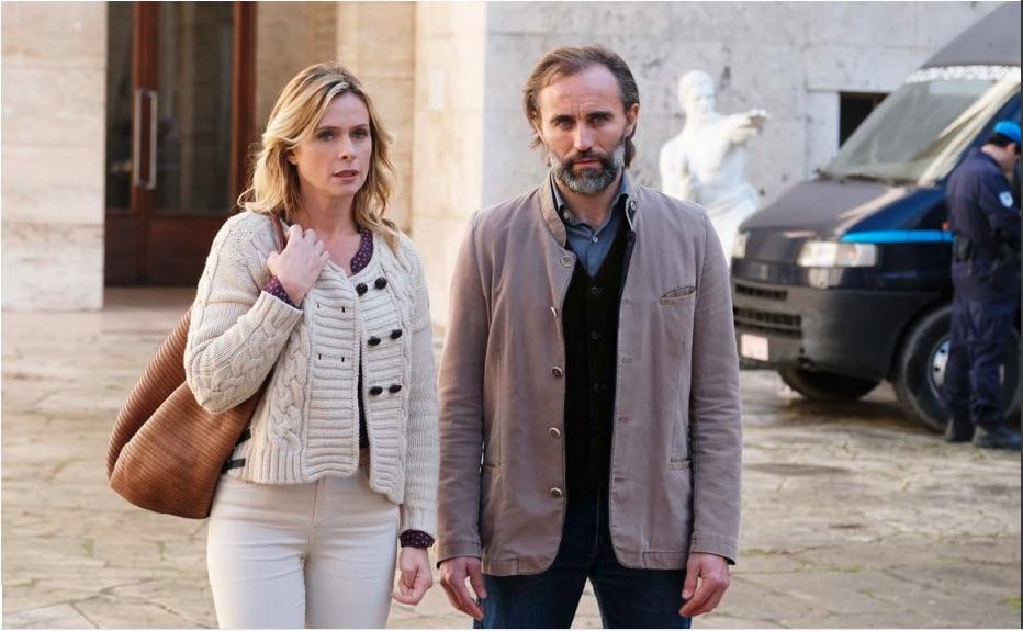 Serena Autieri e Stefano Cassetti Un passo dal cielo 5