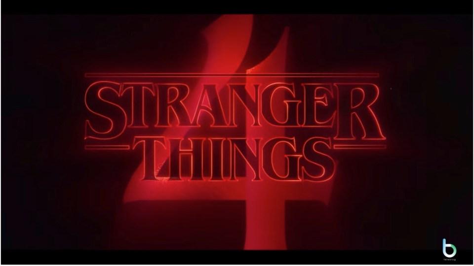 Stranger things 4 Netflix copy