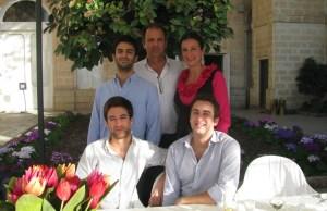 Daphne Caruana e la famiglia a Che tempo che fa