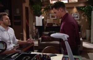 Liam e Wyatt preoccupati per Bill e Katie