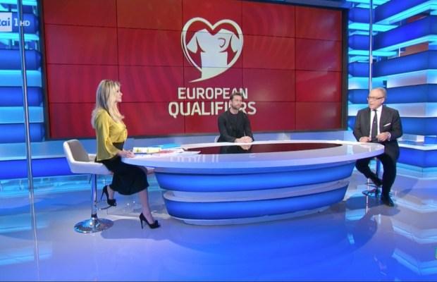 Bulgaria-Italia ascolti tv Rai Uno