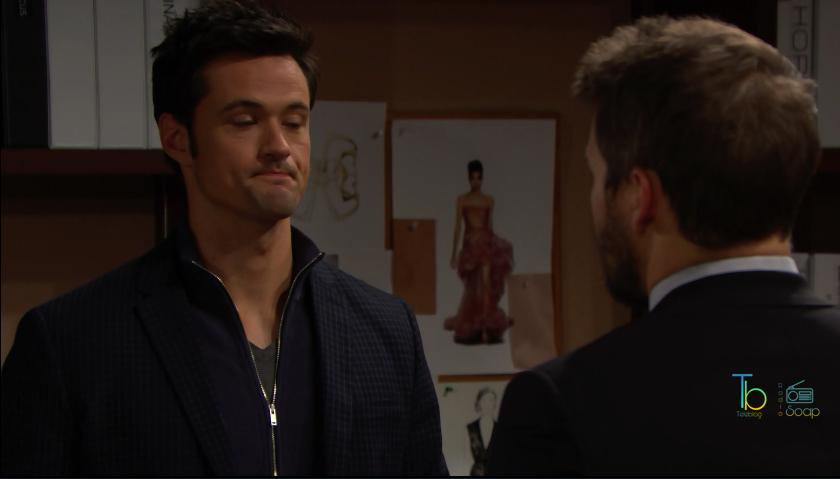 Liam minaccia Thomas