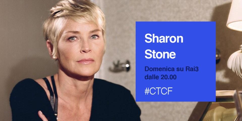 Sharon Stone a Che tempo che fa