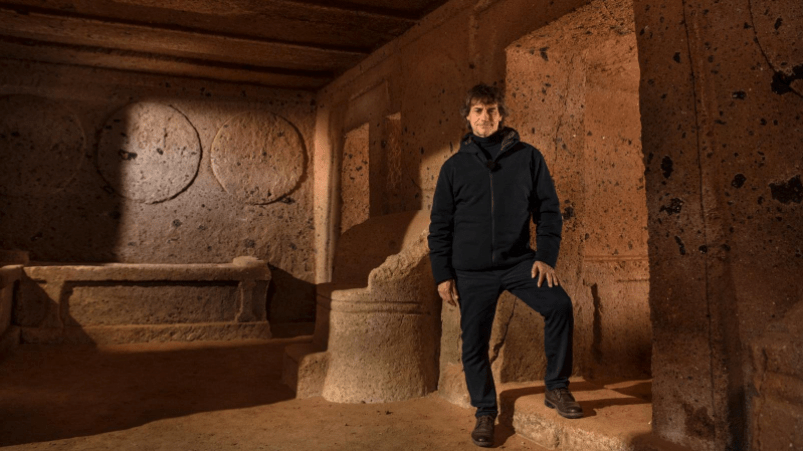 Ulisse Il piacere della scoperta gli Etruschi Rai Uno