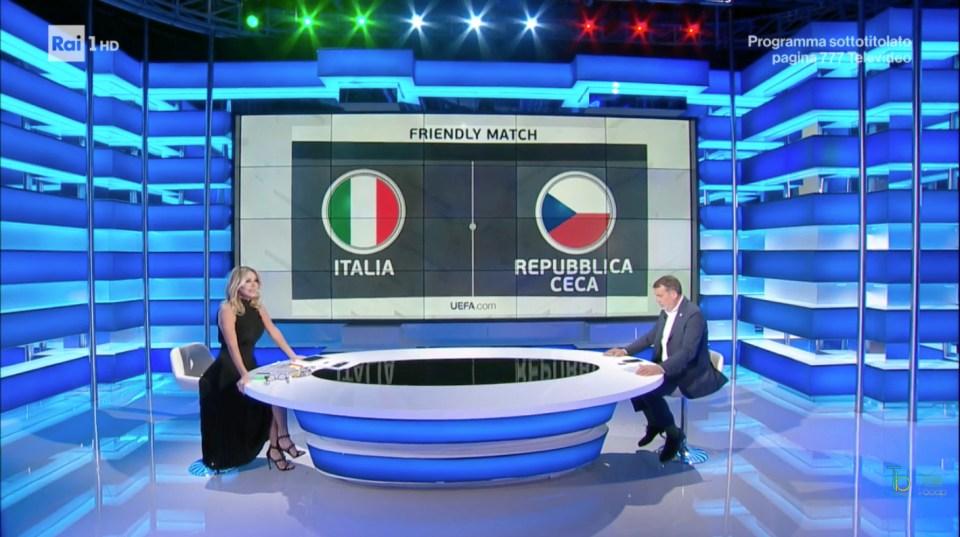 Italia-Repubblica Ceca ascolti tv Rai Uno