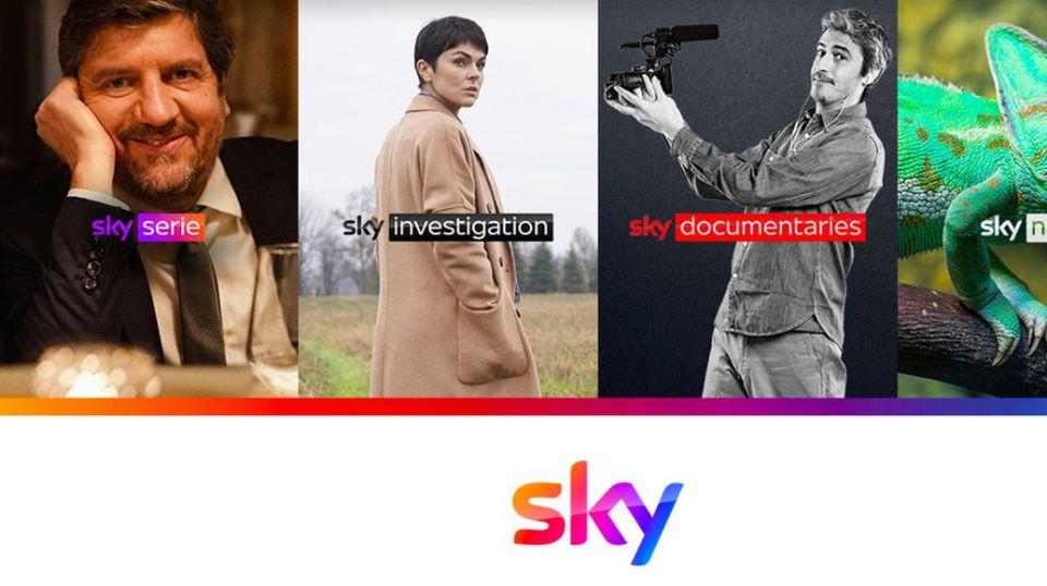 Sky Serie, Investigarion, Documentaries e Nature