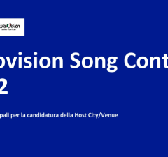 Eurovision song contest 2022 città candidate