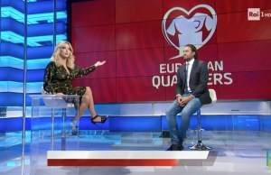 Italia-Bulgaria ascolti tv rai uno