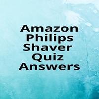 Amazon Philips Shaver Quiz Answers