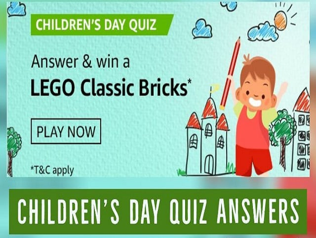 Amazon Children Day Quiz Answers