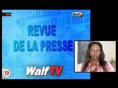 Revue de la presse de Ramatoulaye sarr Walf TV du 21 sept 2016