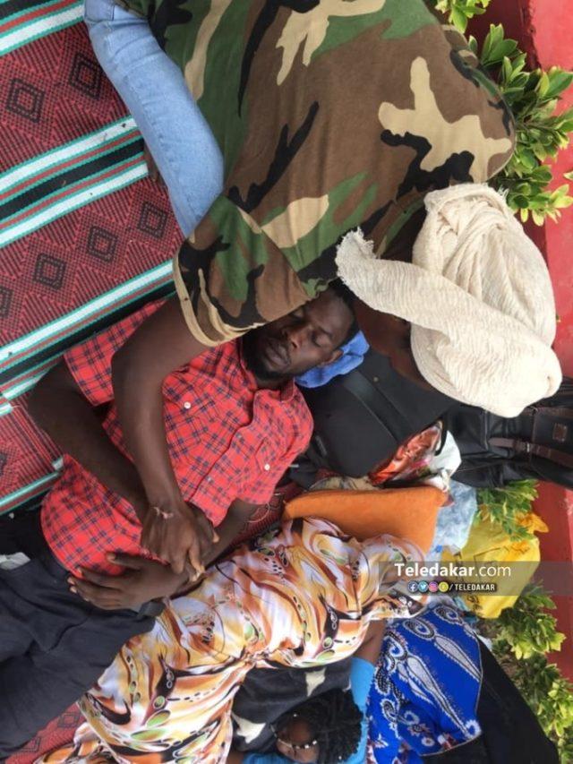 Après 25h de grève, l'étudiant Pape Abdoulaye Toure évacué