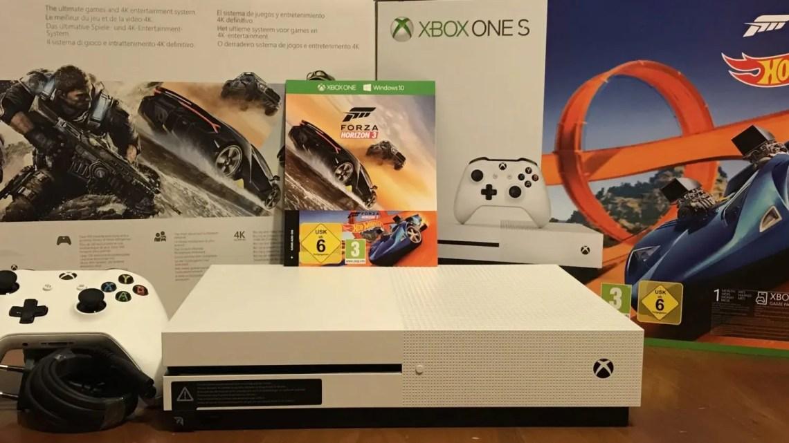 Xbox One S, nulla da invidiare alla versione X