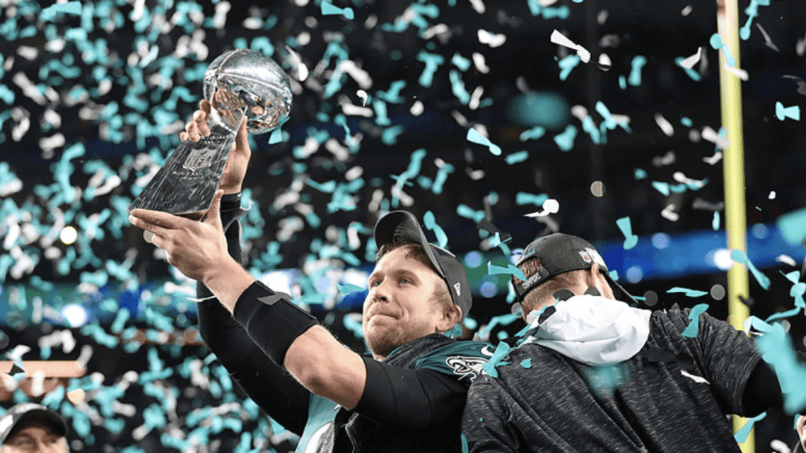 NFL, ai Philadelphia Eagles il Super Bowl LII