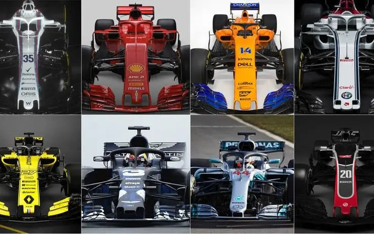 Formula 1, svelate le nuove vetture