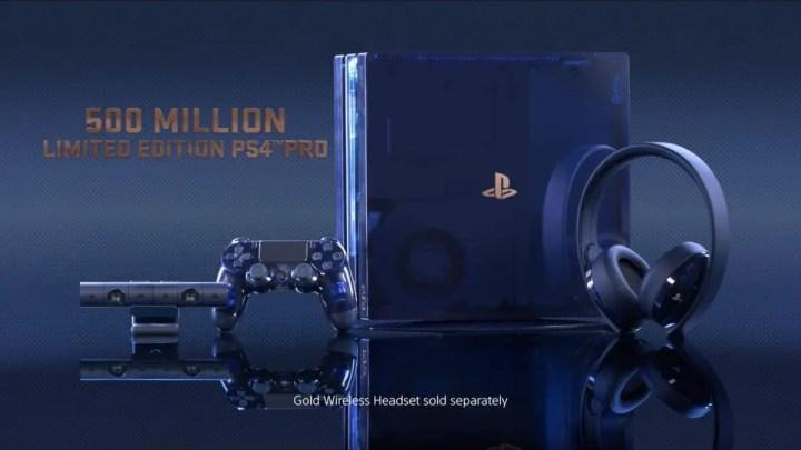 PlayStation 4, arriva la versione 500 Million Limited Edition