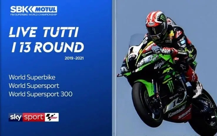 Sky Sport, acquistati i diritti tv del Mondiale Superbike