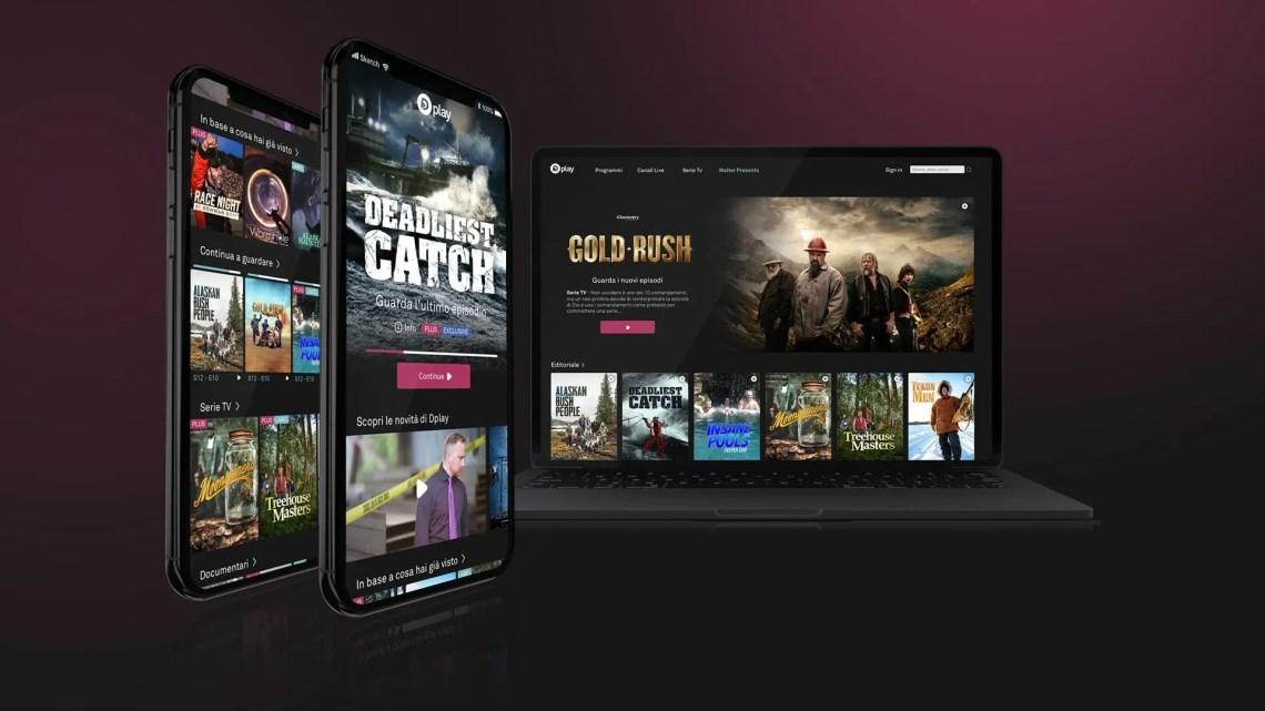 Discovery presenta Dplay Plus, offerta pay con canali e on demand